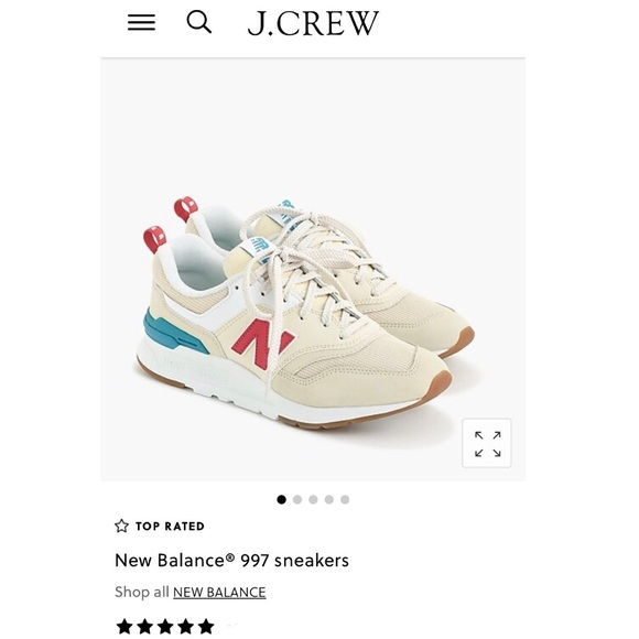 finest selection a119e 95f00 J.Crew x New Balance 997 Sneakers NWT